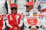 Felipe Massa Lewis Hamilton (Ferrari) (McLaren-Mercedes)