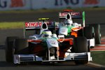 Giancarlo Fisichella vor Adrian Sutil (Force India)