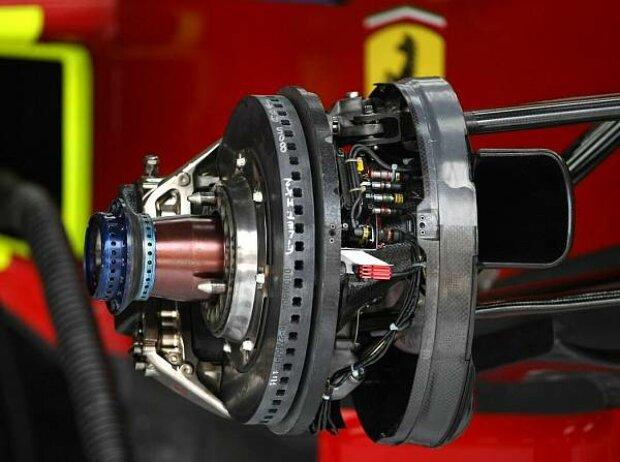 Bremsen am Ferrari F2008