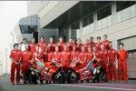 Die Ducati-Mannschaft beim Auftakt in Katar