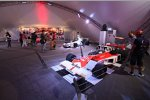 Formel-1-Ausstellung im Fan-Bereich