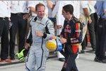 Rubens Barrichello (Brawn) mit Sébastien Buemi (Toro Rosso)