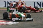 Giancarlo Fisichella (Force India) und Felipe Massa (Ferrari)