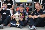Sebastian Vettel und Christian Horner (Teamchef) (Red Bull)