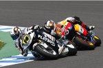 Randy de Puniet (LCR), Andrea Dovizioso (Honda)