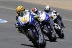 Valentino Rossi, Jorge Lorenzo (Yamaha)