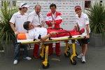 Toyotas Teamarzt Riccardo Ceccarelli feiert seinen 300 Grands Prix