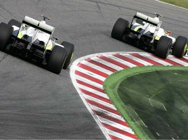 Jenson Button und Rubens Barrichello