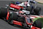 Heikki Kovalainen (McLaren-Mercedes) und Robert Kubica (BMW Sauber F1 Team)