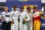 Friedhelm Nohl, Augusto Farfus, Jörg Müller, Gabriele Tarquini, Stefano D'Aste (SEAT) (BMW Team Germany) (Wiechers)