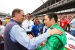 Tony Kanaan mit Gian Paolo Dallara