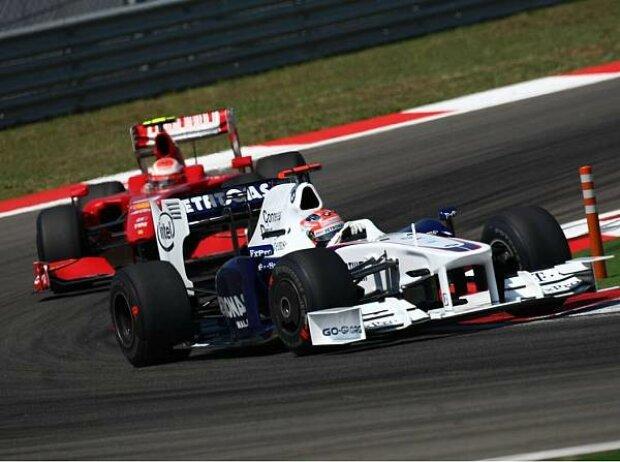 Kimi Räikkönen, Robert Kubica