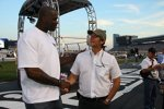 Shaquille O'Neal mit Tony George