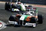 Adrian Sutil (Force India) und Rubens Barrichello (Brawn)