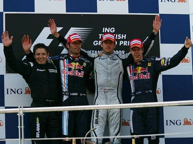 Podium in der Türkei 2009