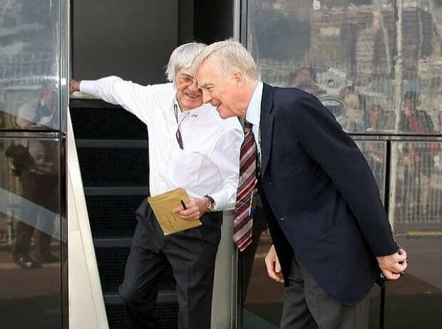 Bernie Ecclestone und Max Mosley
