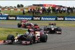 Sébastien Bourdais vor Sébastien Buemi (Toro Rosso)