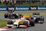 Nelson Piquet Jr. (Renault) vor Sébastien Bourdais (Toro Rosso)