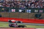 Sébastien Bourdais (Toro Rosso) und Heikki Kovalainen (McLaren-Mercedes) nach ihrer Kollision