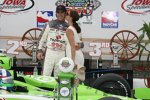 Dario Franchitti mit Ehefrau Ashley Judd