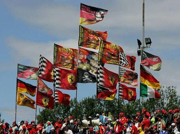 Michael-Schumacher-Fans