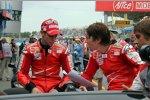 Casey Stoner und Nicky Hayden (Ducati)
