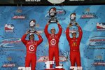 Dario Franchitti Scott Dixon Graham Rahal