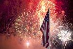 4. Juli: Feuerwerk in Daytona