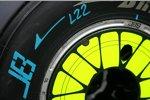 Radkappe von Jenson Button (Brawn)