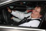 Norbert Haug (Mercedes-Motorsportchef) im Renntaxi