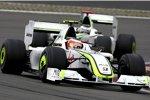 Rubens Barrichello vor Jenson Button (Brawn)