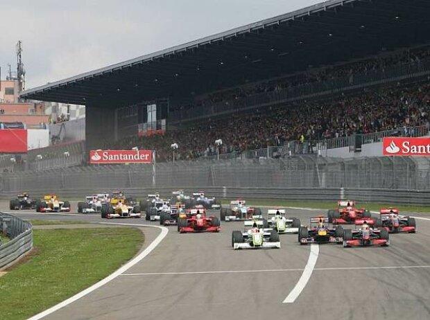 Start am Nürburgring 2009