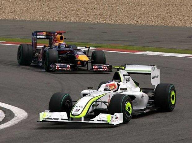 Rubens Barrichello vor Mark Webber