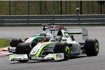 Jenson Button (Brawn) und Giancarlo Fisichella (Force India)