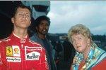 Michael Schumacher mit der verstorbenen Mutter Elisabeth
