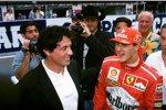 Michael Schumacher mit Filmstar Sylvester Stallone