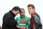 Michael Andretti Tony Kanaan Marco Andretti