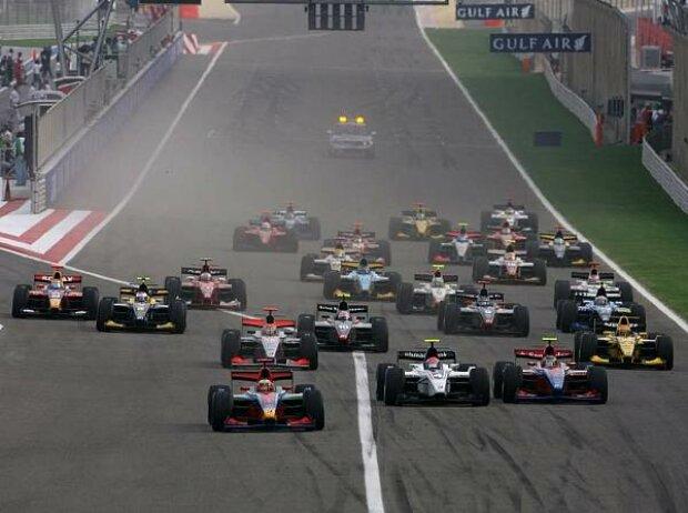 GP2 Asia Start Bahrain