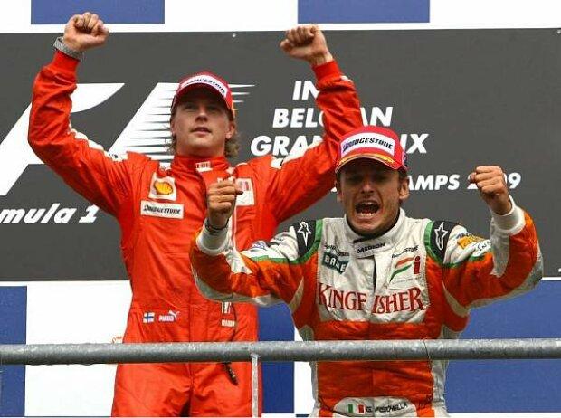 Kimi Räikkönen und Giancarlo Fisichella