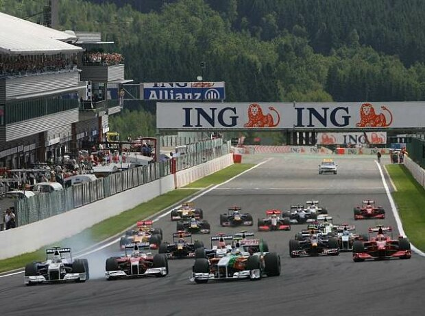 Start in Spa-Francorchamps 2009