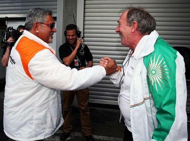 Vijay Mallya und Ian Phillips