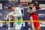 Andy Priaulx, Augusto Farfus, Tom Coronel (BMW Team UK) (BMW Team Germany) (Sunred)