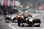 Adrian Sutil und Vitantonio Liuzzi (Force India)
