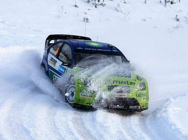 Mikko Hirvonen Rallye Schweden