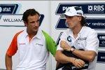 Robert Kubica (BMW Sauber F1 Team) und Vitantonio Liuzzi (Force India)