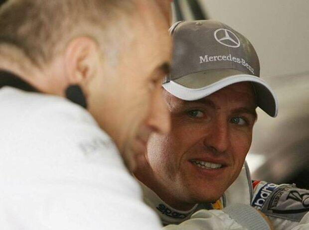 Peter Mücke und Ralf Schumacher