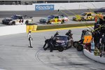 Green-Flag-Stopp bei Brian Vickers