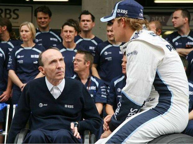 Frank Williams und Nico Rosberg