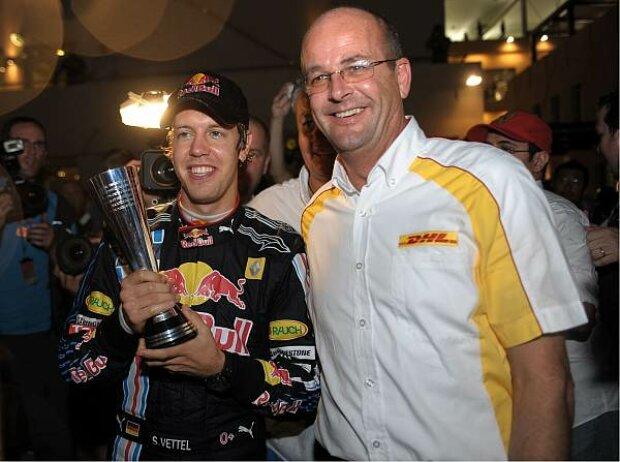 Sebastian Vettel und Thomas Nieszner