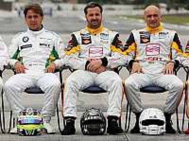 Yvan Muller, Gabriele Tarquini, Augusto Farfus